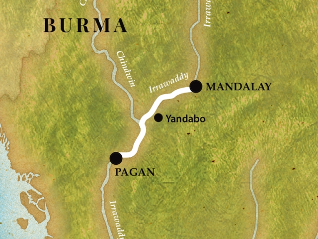 Pandaw Crusie - Bagan to Mandalay Short Cruise