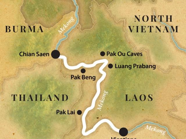 Pandaw Cruise - The Laos Mekong