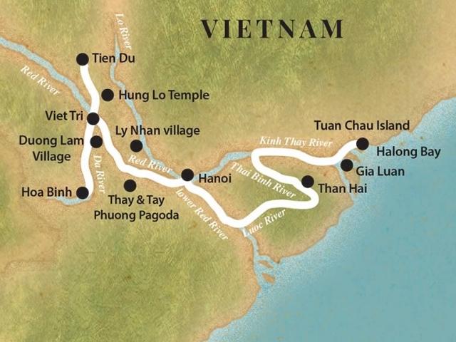 Pandaw Cruise – Halong Bay and Red River (April to November)
