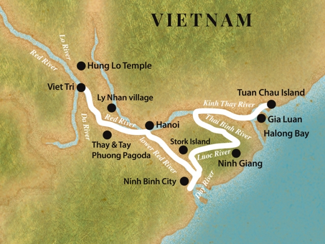 Pandaw Cruise - Halong Bay and Red River (December to March)