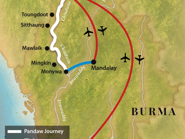 Pandaw Cruise - The Chindwin (March to November)