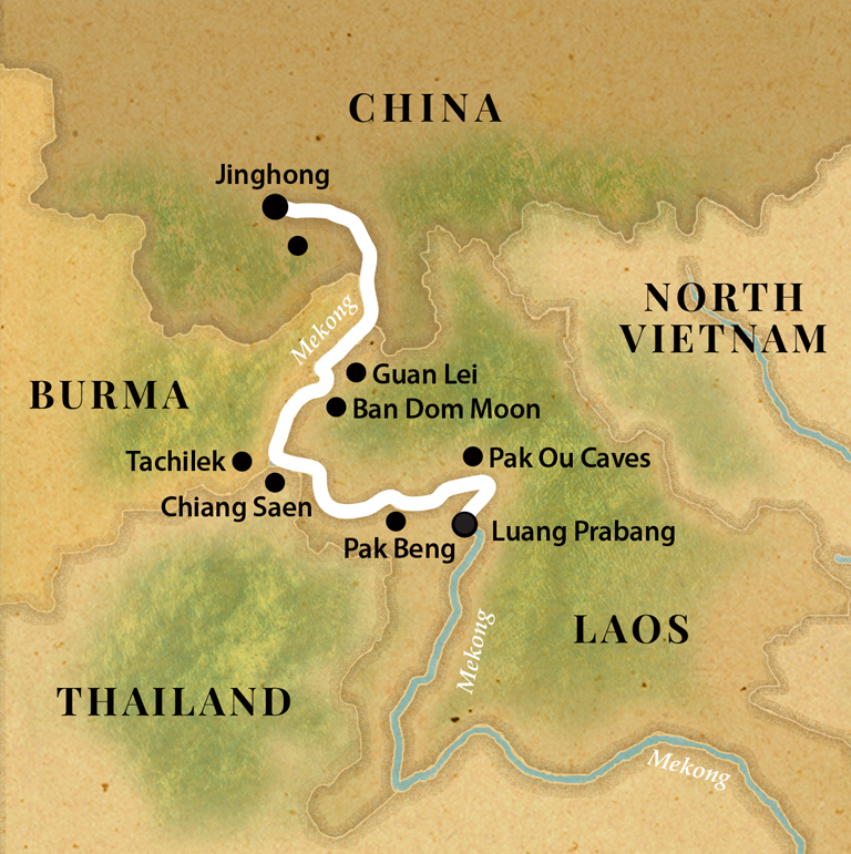 Pandaw Cruise - The Mekong: From Laos to China