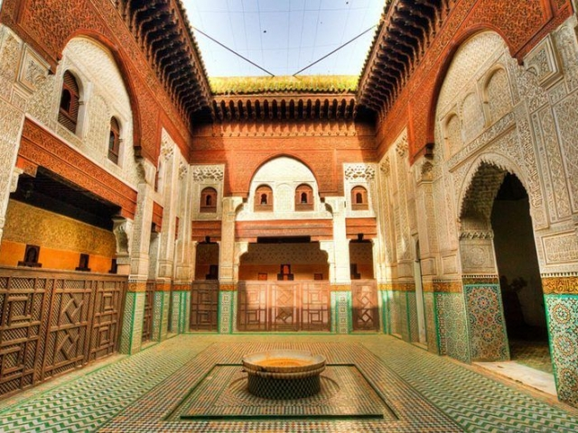 Andalucian Heritage, Fes, Bou Inania Medersa