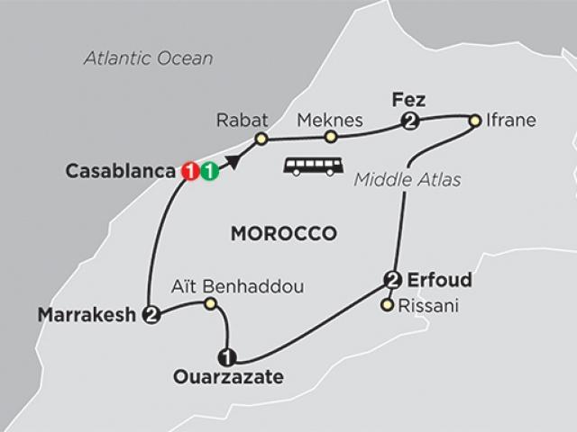Hightlights of Morocco