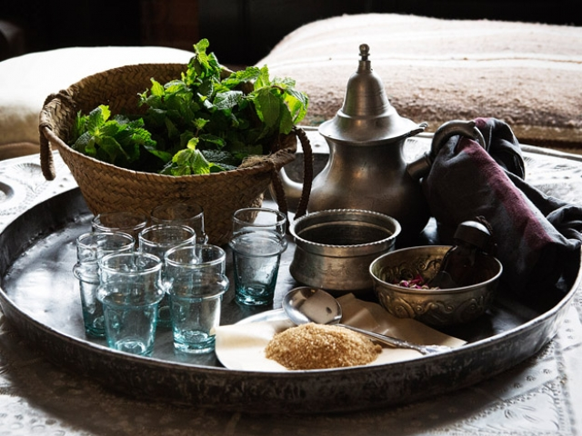 Colours of Morocco, Moroccan Tea Ceremony