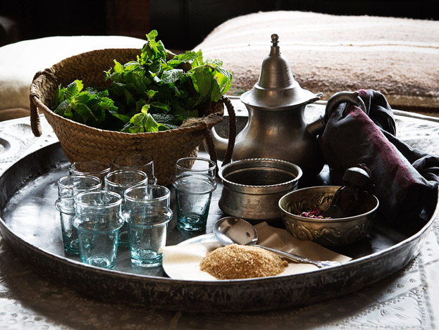 Colours of Morocco, Moroccan Tea Ceremony