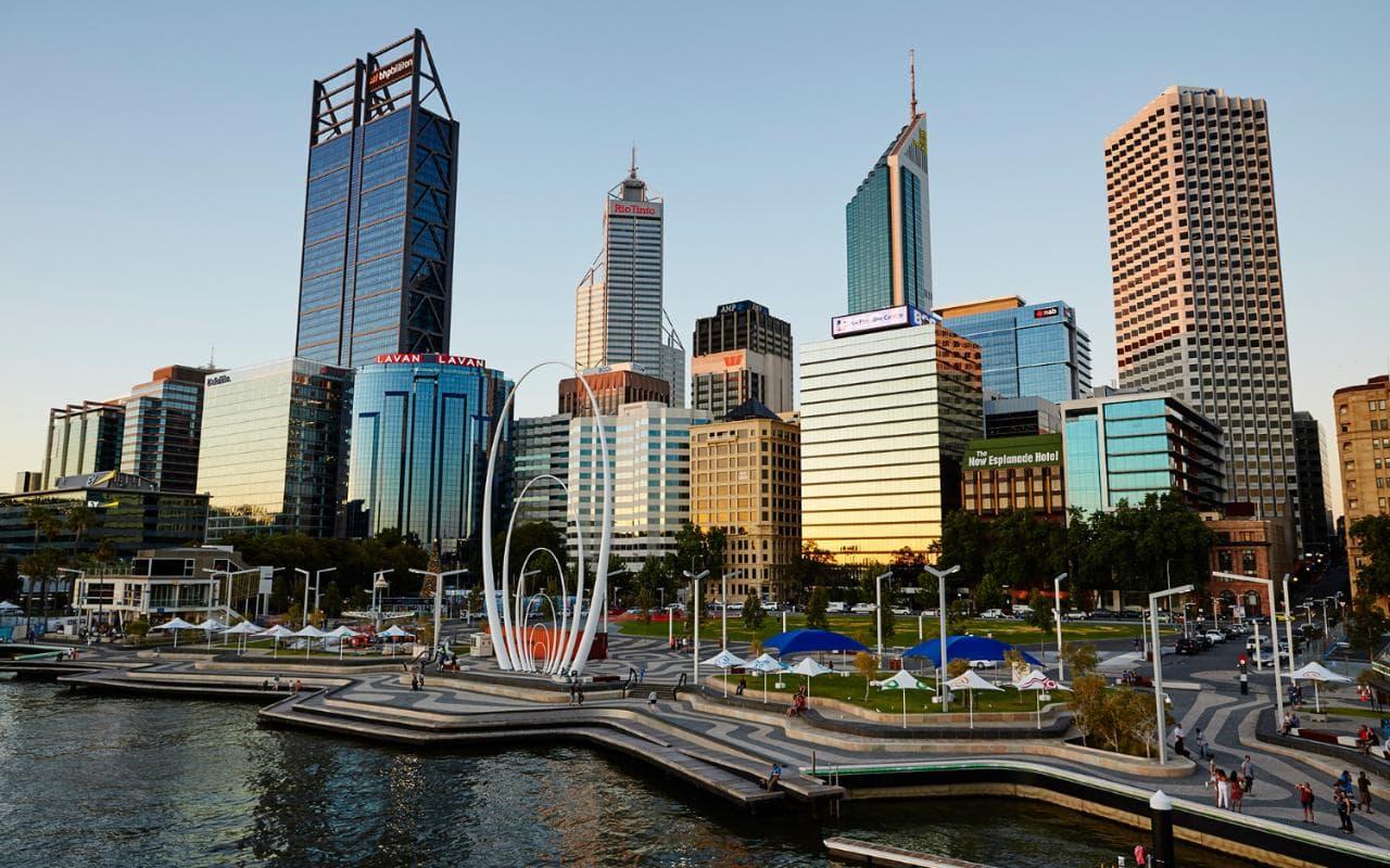 Perth & Rottnest Island | Elizabeth Quay, Perth, Western Australia