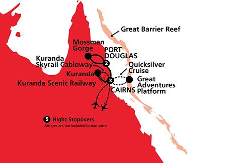 Port Douglas and Reef Retreat