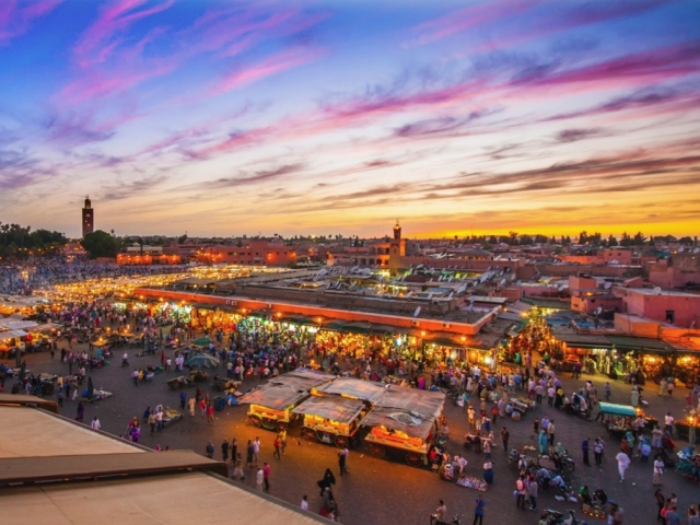 Spicy Marrakesh, Djemaa El Fna Sqauare