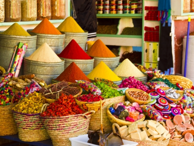 Spicy Marrakesh, Spices at the Souk Market