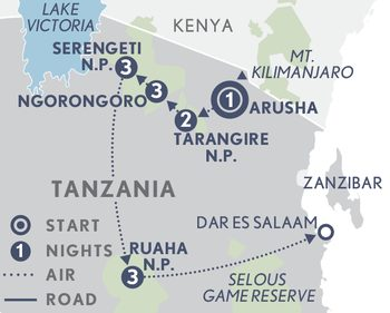 Tanzania Encompassed