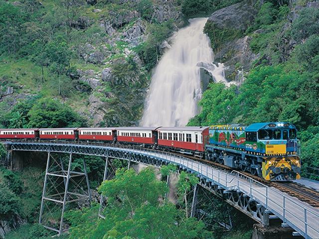 Queensland Tropical Trails, Kuranda Scenic Railway