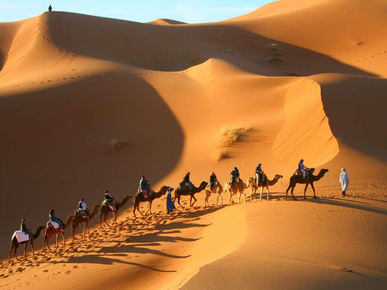 urs of Morocco, Merzouga Dunes