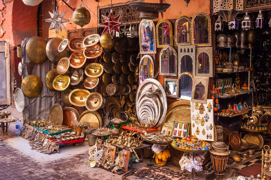 Marrakesh & High Atlas Escape, Souks of Marrakesh