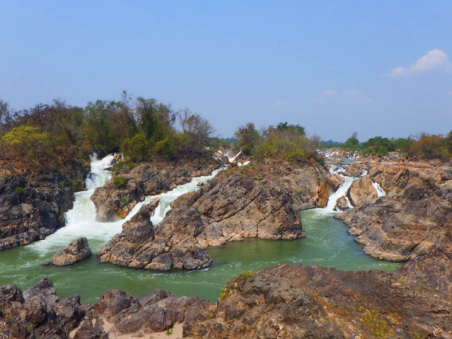 Secrets of Southern Laos, 4,000 Islands, Li Phi Falls