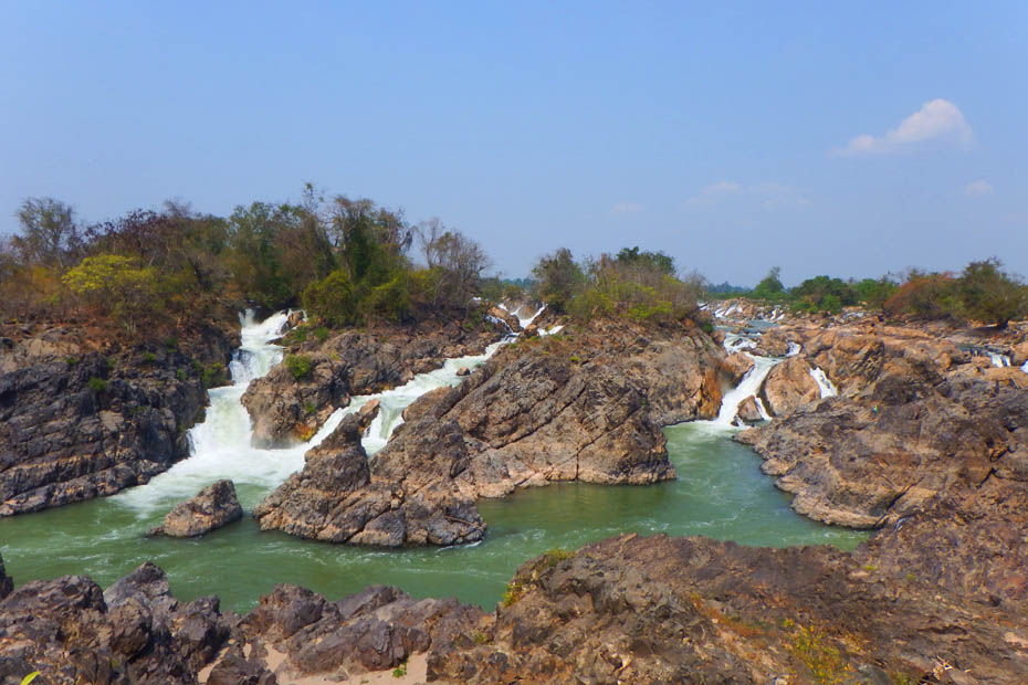 Secrets of Southern Laos, 4,000 Islands, Li Phi Falls