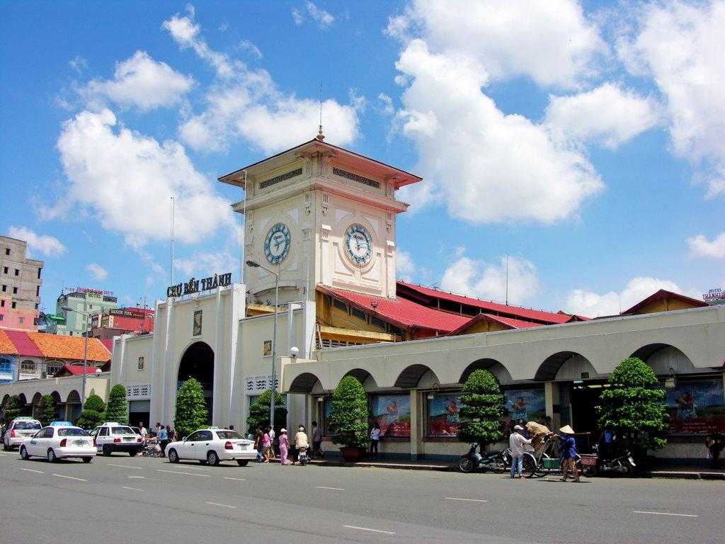 Highlights of Vietnam, Ho Chi Minh City, Ben Thanh Market