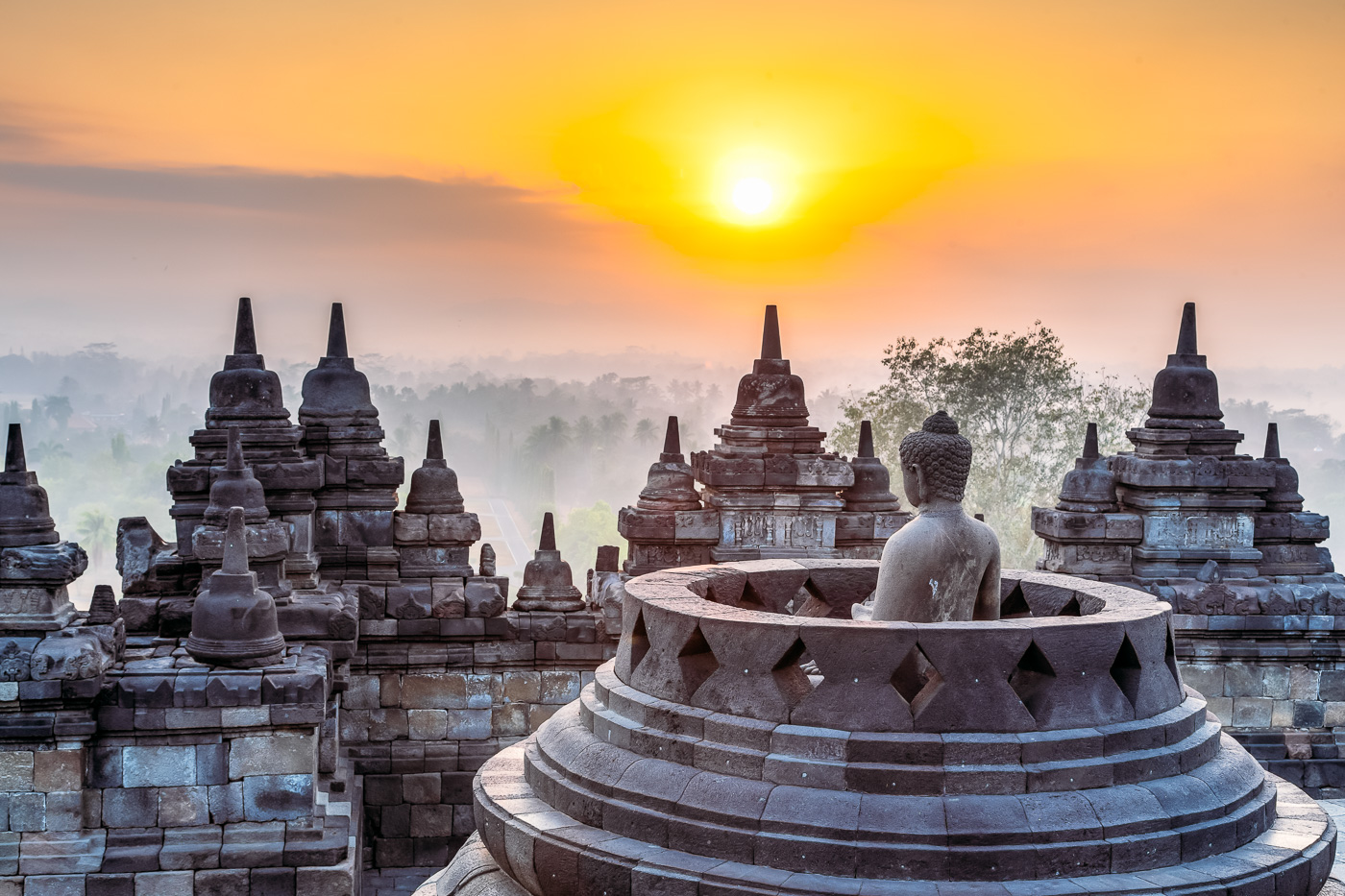 Highlights of Yogyakarta, Borobudur