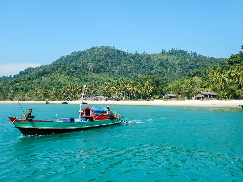Island Hopping in the Mergui Archipelago, Dome Island