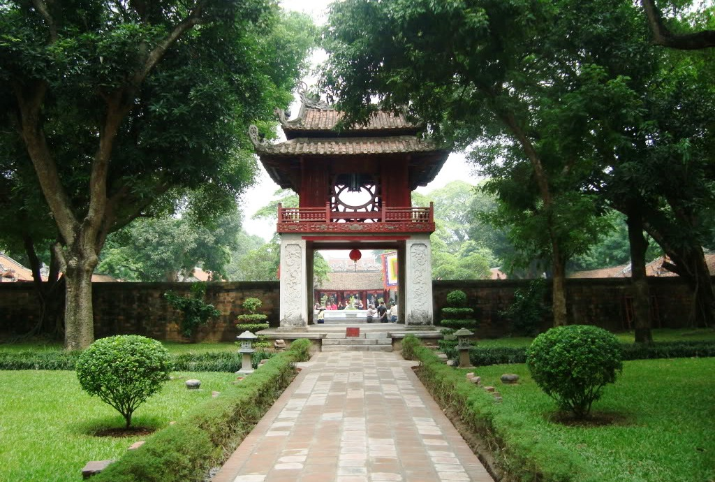 Highlights of Vietnam, Hanoi, Temple of Literature
