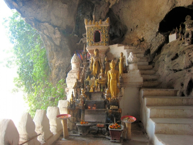 Highlights of Laos, Luang Prabang, Pak Ou Caves