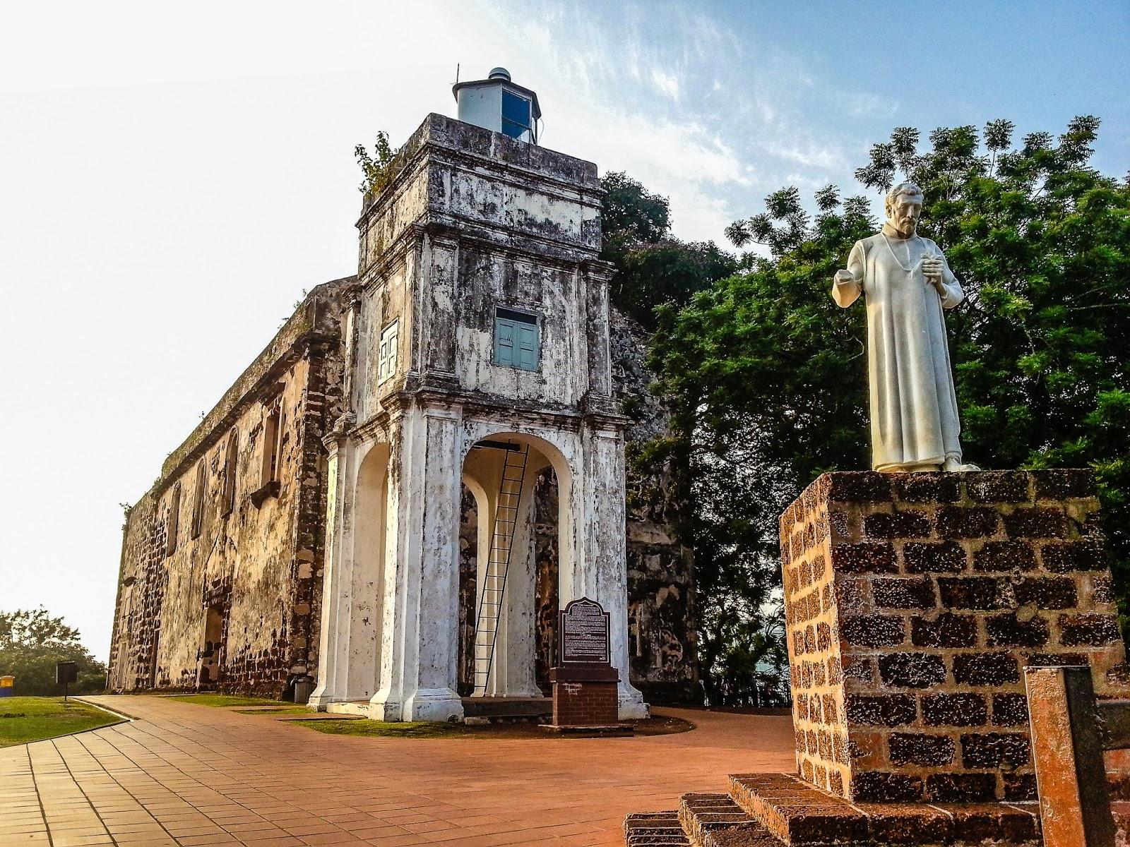 Highlights of Malaysia, Malacca, St Paul's Church