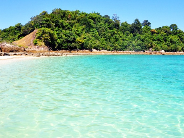 Island Hopping in the Mergui Archipelago, Marcus Island