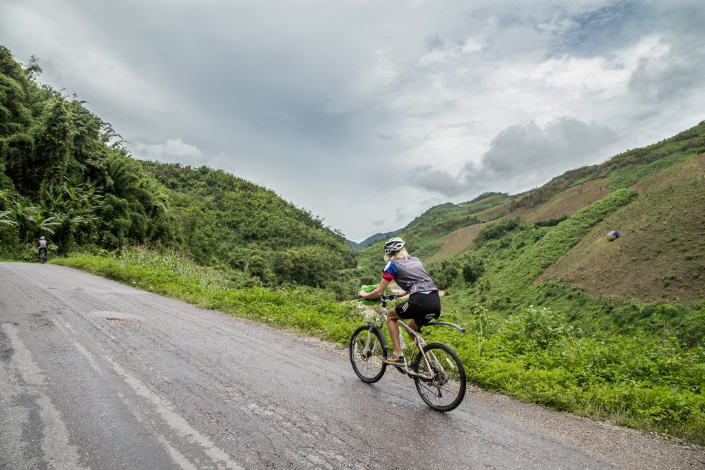 Discover the Mountains of Laos by Bike