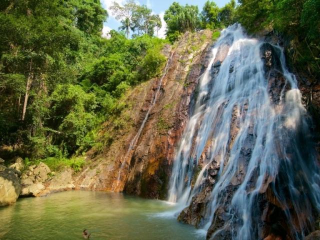 Koh Samui Island Discovery, Na Muang Waterfall