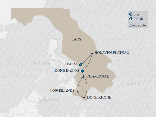 Secrets of Southern Laos