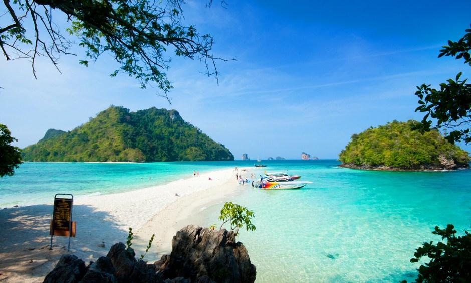 Krabi Relaxation, Tup Island