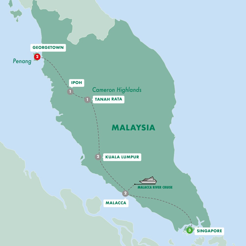 Colonial Singapore & Malaysia