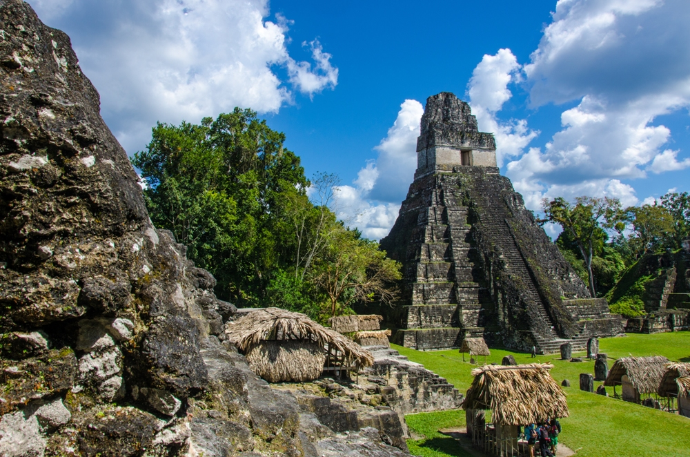 Guatemala, Land of the Mayas, Maya Tikal Ruins