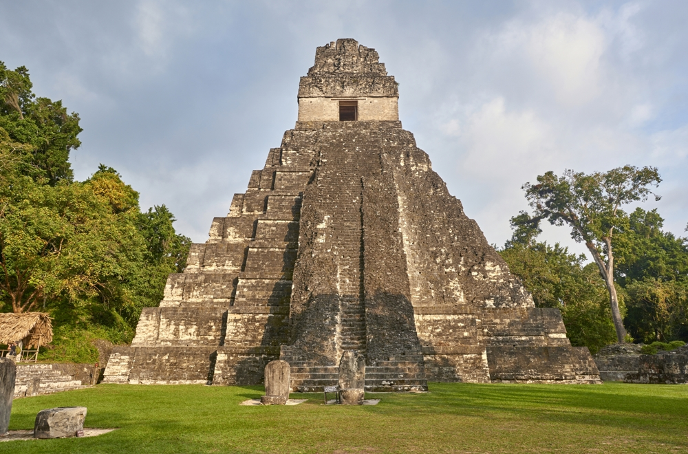 Guatemala, Land of the Mayas, Tikal pyramids