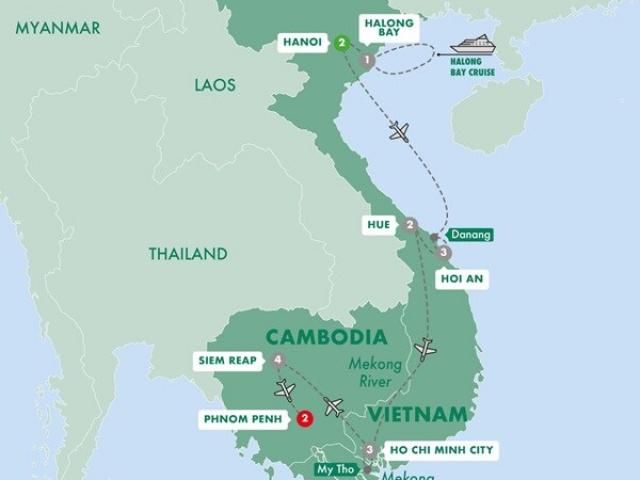 Vietnam & Cambodia Uncovered