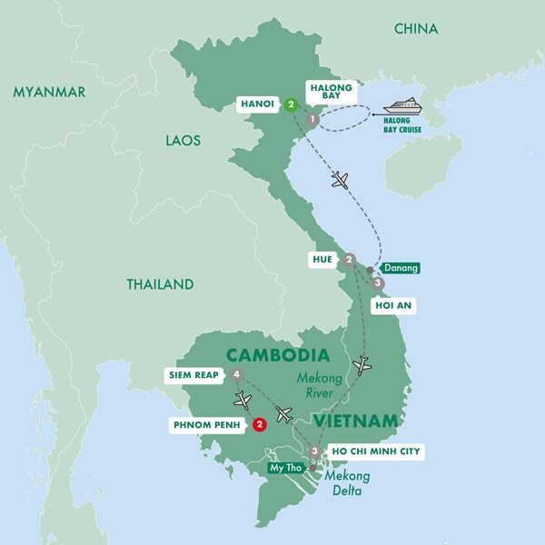 Vietnam & Cambodia Uncovered