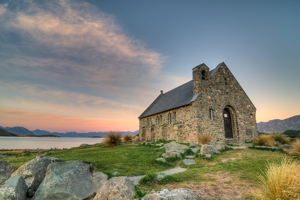 New Zealand Uncovered | Church of the Good Shepherd, Lake Tekapo, New Zealand