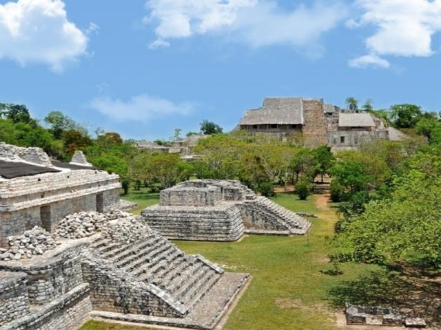 The Wonders Of Mexico's Yucatan, Mayan site of Ek' Balam