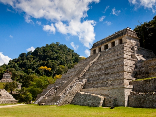 The Aztec & Maya Civilization, Temple of Palenque