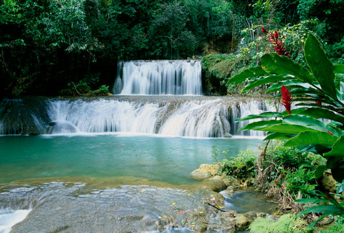 South Coast Jamaica, YS falls