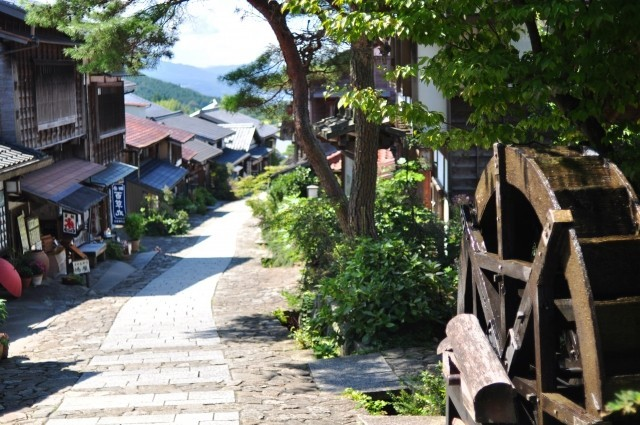 Past to Present Japan - Magome Village