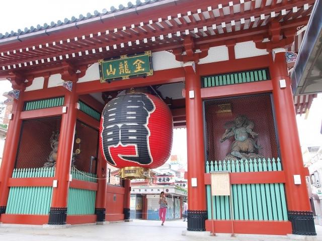 Japan's Golden Route | Tokyo, Asakusa, Senso-Ji Temple