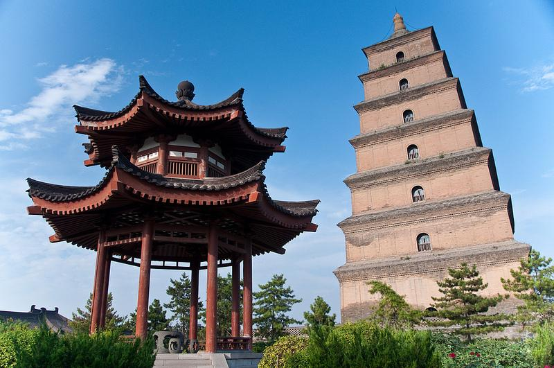 Treasures of China - Xi'an, Dayan (Big Goose) Pagoda