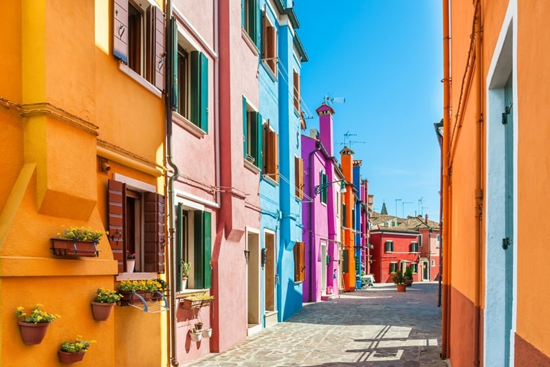 Grand European | Burano island, Italy