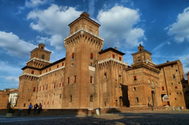 Continental Introduction, Este Castle, Ferrara, Italy