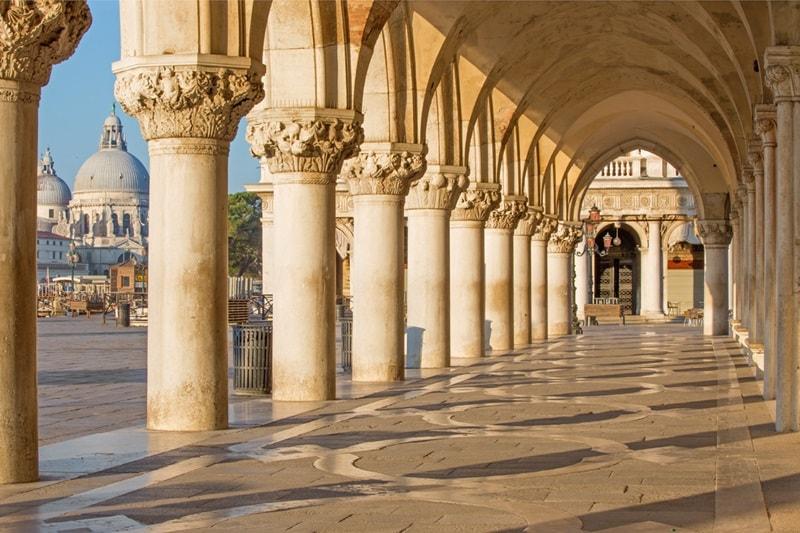 European Spotlight, Doge Palace, Venice, Italy