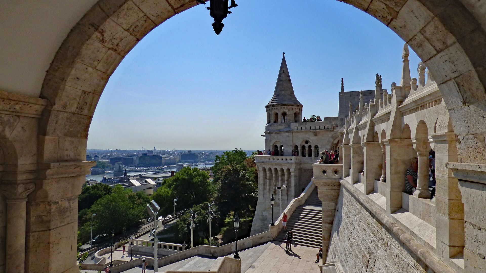 Imperial Heritage - Fisherman's Bastion, Budapest, Hungry