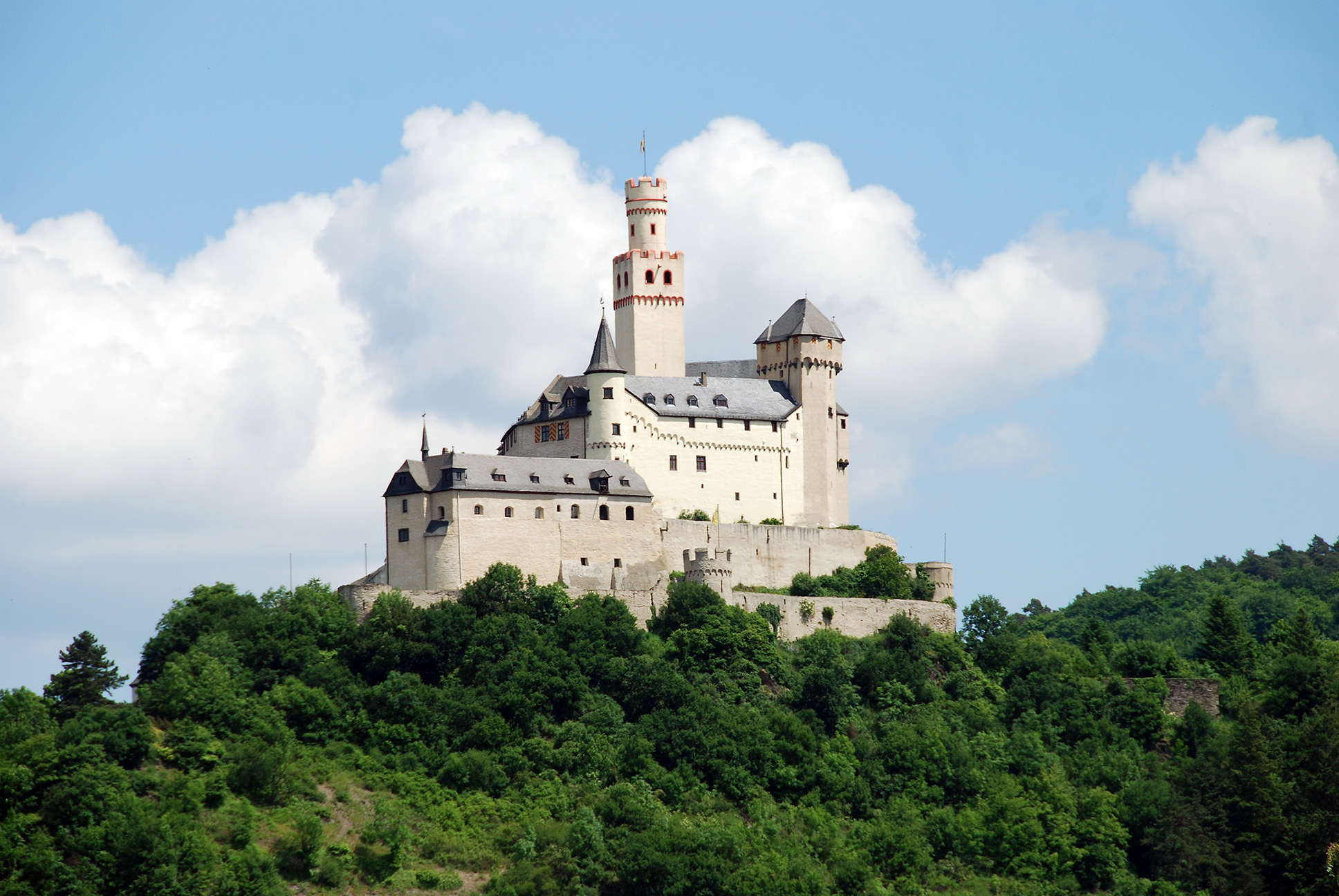 Enchanting Europe - Germany, Koblenz, Marksburg Castle