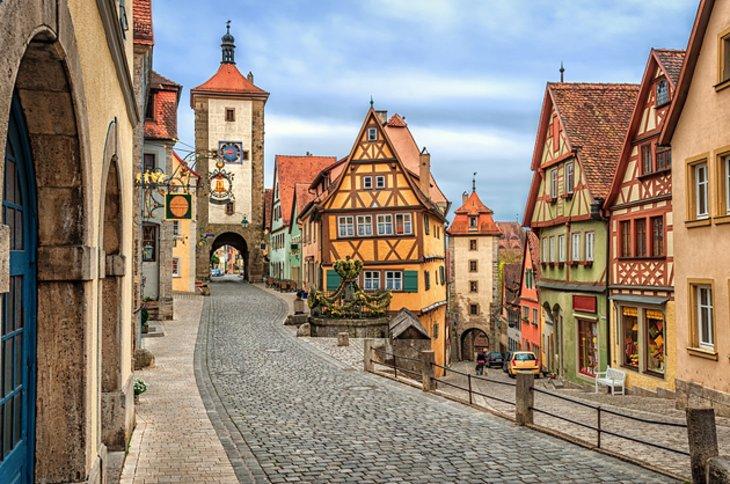 Seven Countries, Venice & Paris - Germany, Rothenburg