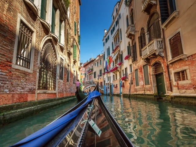 European Supreme | Gondola Ride, Venice, Italy